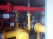 燃气门站除锈刷漆